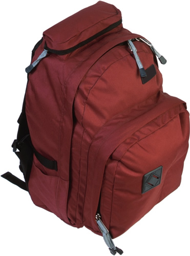 Heavy Red Backpack 
