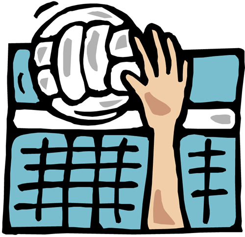 Volleybal Clip Art