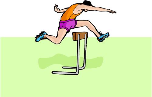 sport, track, field, hurdle