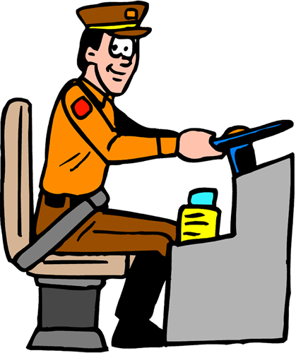city bus driver clipart -#main