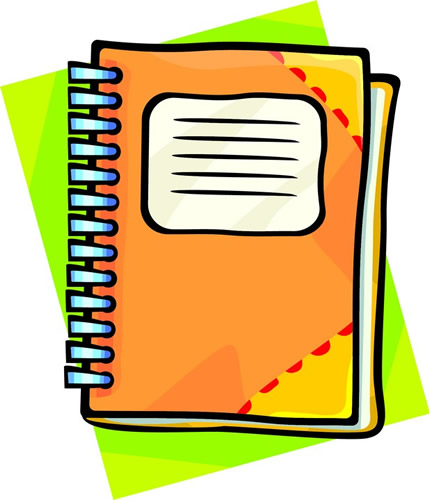 Image result for student handbooks with pencil clipart