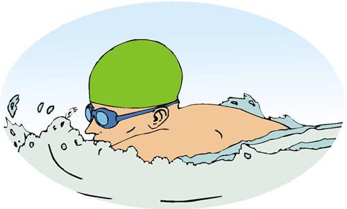 Swimmer photo
