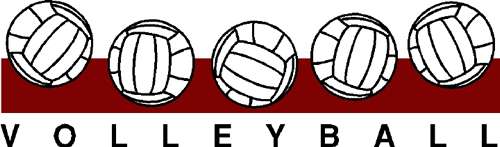 Clipart Image of volleyball