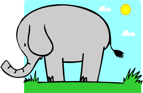 this is a picture of an elephant