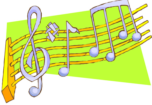 Have fun with music notes!