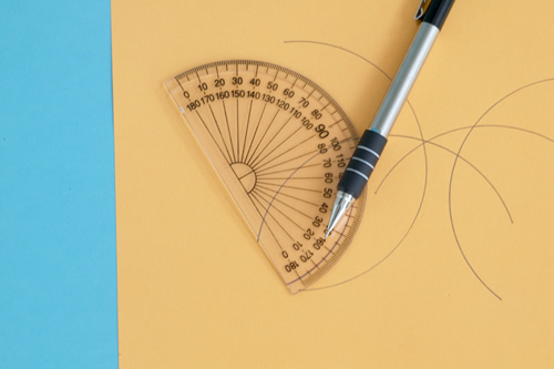 Clipart Of Protractor