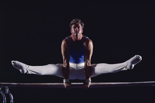 Image of a gymnast