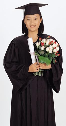 Female Grad