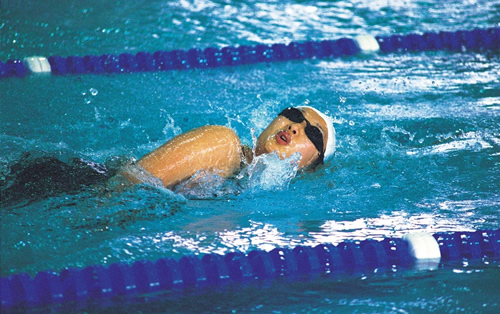 Picture of a swimmer