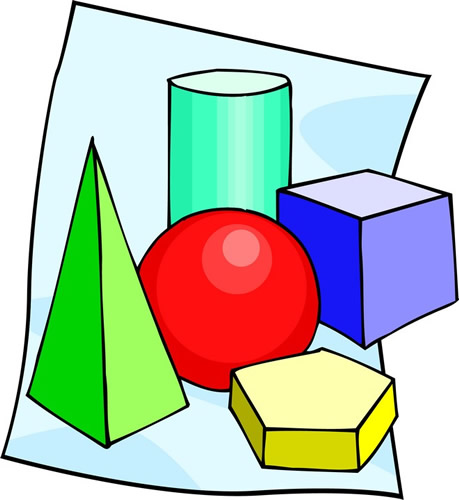 Clipart of Geometric Figures