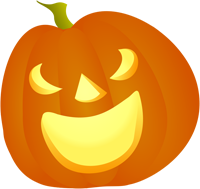 picture of smiling jack o lantern
