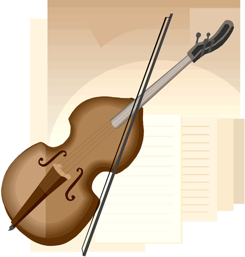 violin, instrument, music