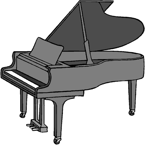 piano graphic