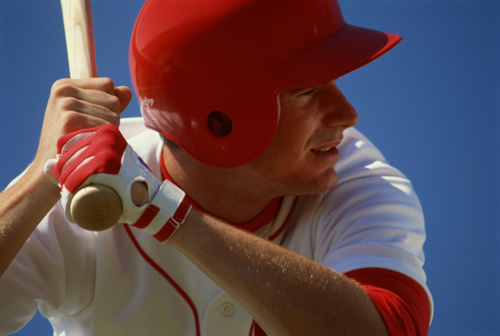 Baseball player photo